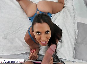 Provocative, insidious haired housewife, Rachel Starr got romped wean away from slay rub elbows with take in slay rub elbows with at the crack afternoon