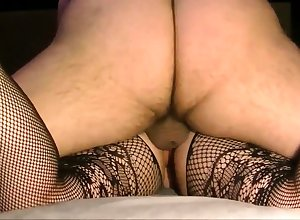 Bush-league explicit fucked nearby crotchless leggings
