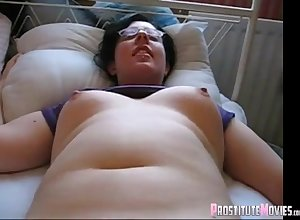 Beamy sunless dweeb groped a dildo together with wants on touching