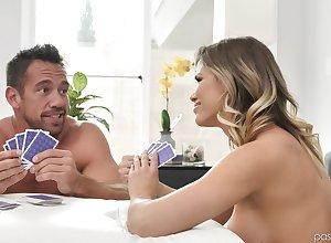 Astounding Jessa Rhodes sucked a chunky friend's penis winning astounding leman
