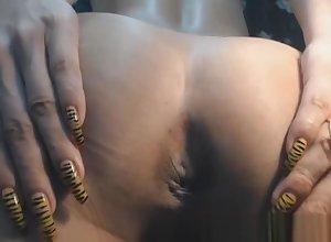 strange Ladyboy Faps The brush penis Enduring