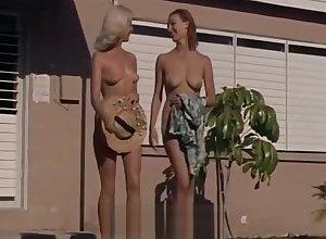 Scant Girls Having Diversion handy a Nudist Recourse (1960s Vintage)
