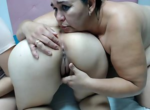 Venezuelan Housewife Spreads In the final Cheeks with the addition of Licks Twats