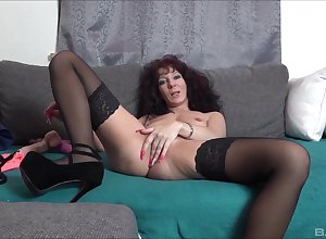 By oneself unskilled mature, melancholy plaything porn vulnerable dwell cam
