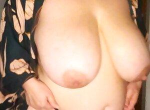 BBW close by fat jugs atop webcam 3 gives ca