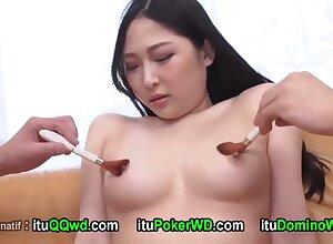 Asian stunner lovable porn scene
