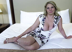 Fat ass and interior blonde MILF