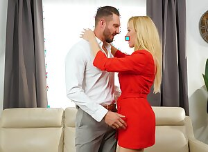 Big inches for mother after a nice teaser